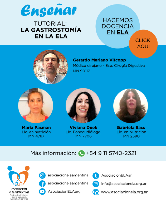 TUTORIAL GASTROSTOMÍA